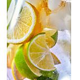 Erfrischung, Zitronenlimonade, Sommergetränk