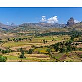 Landwirtschaft, Felder, äthiopien