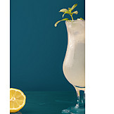 Drink, Cocktail, Limonade, Zitronenlimonade