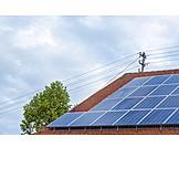 Sonnenenergie, Photovoltaikanlage, Solardach