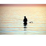 Sea, Fisherman, Fishing