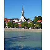 Isar, Bad tölz, Church