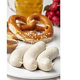 Bavarian Cuisine, Weisswurst