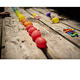 Balloon, Rainbow colors