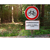 Nature, Do Not Enter Sign