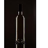 Wine bottle, White wine
