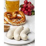 Bayrische Küche, Weißwurst