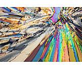 Makro, Abstrakt, Kristall, Mikroskopisch, Mikrokristall