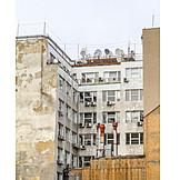 Armut, Prag, Mietwohnung, Mietshaus
