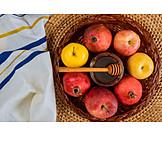 Apple, Honey, Pomegranate, Judaism