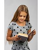 Teenager, Girl, Education, Reading, Literature