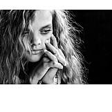 Teenager, Girl, Frustration, Sad, Depression, Sadness, Puberty, Psychology