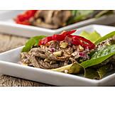 Thailändische Küche, Rindfleischsalat