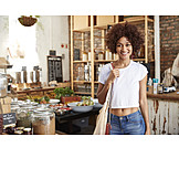 Shopping, Customer, Organic Grocery Store