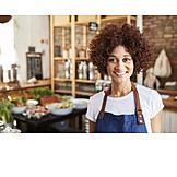 Portrait, Sales executive, Female shop owner