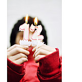 Kind, Geburtstag, 12