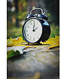 Autumn, Alarm Clock, Clock Change