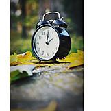 Herbst, Wecker, Zeitumstellung