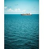 Meer, Containerschiff