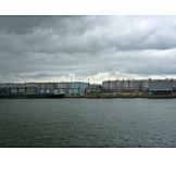 Industry, Logistics, Cargo Port