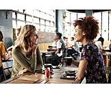 Cafe, Communication, Friends