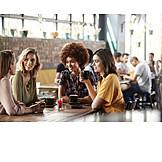 Café, Freundinnen, Treffen