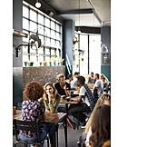 Cafe, Communication, Guest