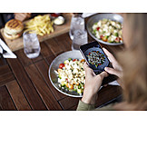 Meal, Photograph, Smart phone