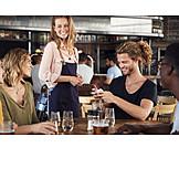 Gastronomie, Bezahlen, Kreditkarte