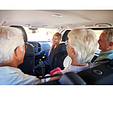 Autofahrt, Senioren, Verreisen
