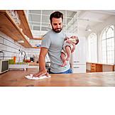Domestic Life, House Work, House Husband