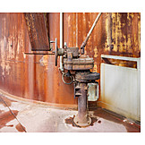 Industry, Corrosion, Machine Part