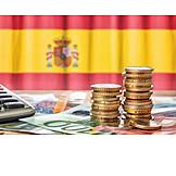 Finanzen, Euro, Spanien