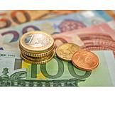 Geld, Euro, Bargeld