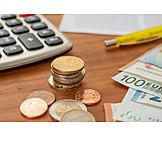 Finanzen, Bargeld, Abrechnung