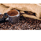 Coffee, Coffee Powder, Ground Coffee