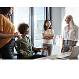 Team, Meeting, Organized Group