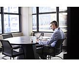 Businessman, Preparation, Meeting Room
