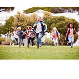 Running, Summer Holidays, School Starter