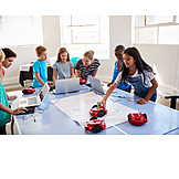 Bildung, Klassenzimmer, Robotik