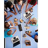 Klassenzimmer, Schulfach, Programmieren