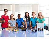 School, Knowlege, Robotics