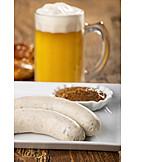 Bavarian cuisine, Breakfast, Weisswurst