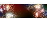 Feuerwerk, Neujahr, Jahreswechsel