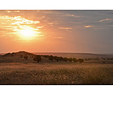 Natur, Sonnenuntergang