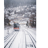 Winter, Cable Car