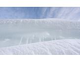 Snow, Snowdrift, Snow Wall