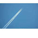 Airplane, Vapor Trail
