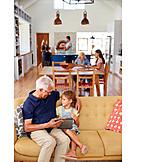 Häusliches Leben, Zuhause, Generation