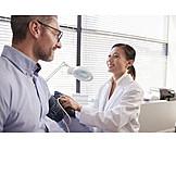 Measuring, Blood Pressure, Doctor